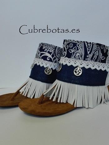 cubrebotas blue