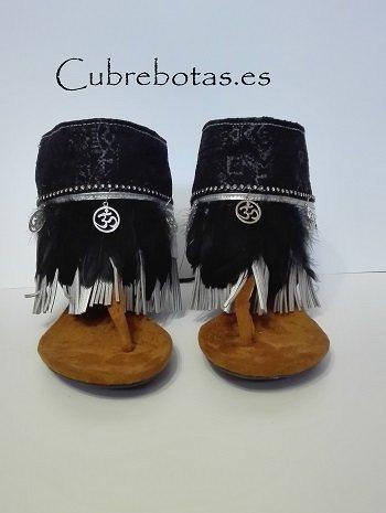 botas etnicas silver