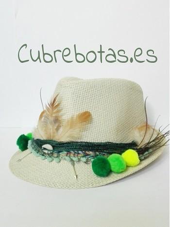 sombrero boho green dream.