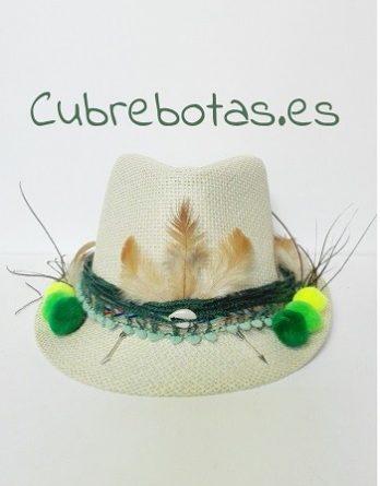 Sombrero Boho Flores vino – Cubrebotas 2725c99ac4c