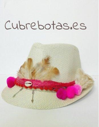 Sombrero boho Rosa 0b8a4379ef2