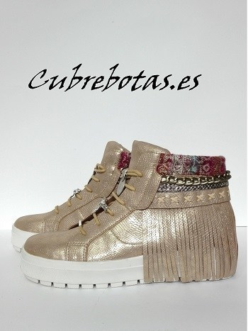 Botas Etnicas Sneakers Gold