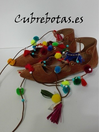 Manoletinas pompones
