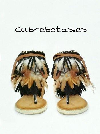 Sandalias Boho Feathers