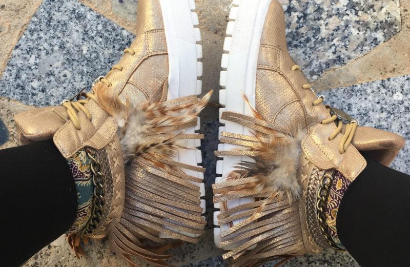 Sneakers boho