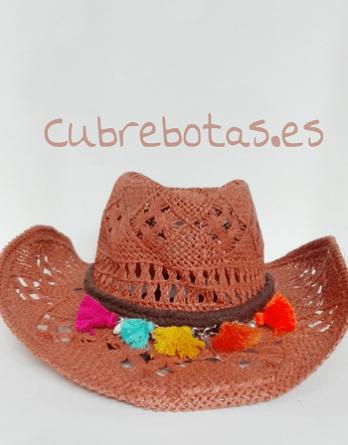Sombrero boho Borlas Multicolor c6c07a5d96c