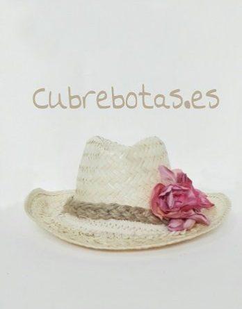 Sombrero boho Petalos Rosa 3360b02bc29